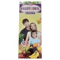 Fruitodex Syrup, Packaging Size: 450 mL, Grade Standard: Medicine Grade