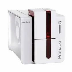 Primacy Double Side ID Card Printer, Capacity: 200-250 Per Hours