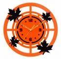 Round Acrylic Wall Clock