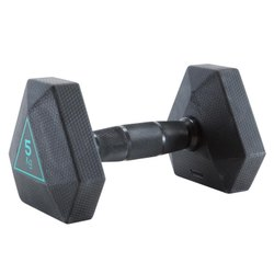 Decathlon 5 kg Hex Dumbbell