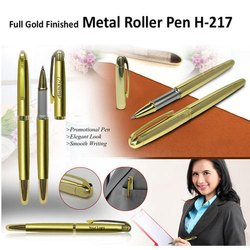 Metal Roller Pen (Gold Finished)  H-217