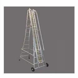 Aluminum Small Wheeled Tower Ladder