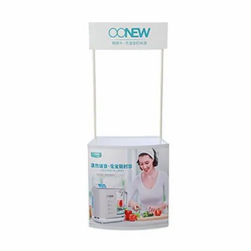 White Pvc Promotional Table, For Advertisement, Promotion