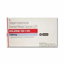 Dilzem CD 120 Capsule ER (Diltiazem 120 mg)