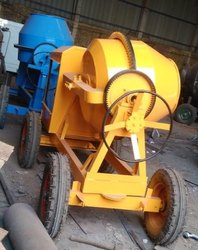 5 Hp Cement Concrete Mixer Machine, Capacity: 3 Ton
