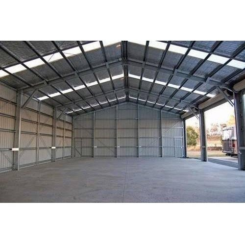 Panel Build Mild Steel Industrial Shed