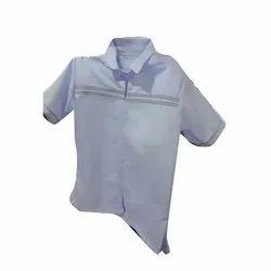 Summer Cotton White School Uniform Shirt