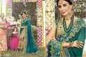 Remarkable Georgette Embroidered Party Wear Saree