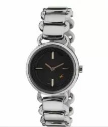 Fastrack Analog Black Dial Women's Watch