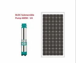 1HP Solar BLDC Submersible Pump