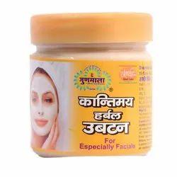 Gunmala Herbals Kantimaya Ubtan, Pack Size: 100 Ml., for Personal And Parlour
