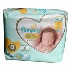 Pampers Diaper, Packaging Type: Packet