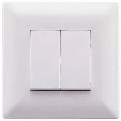 Abs Plastic Electrical Switch Board, 2, For Electric Fittings