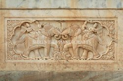 CNC Carving Sandstone Wall Panel