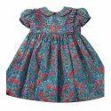 Regular Wear Girl Floral Print Baby Frock, 1-3 Years, Packaging Type: Packet