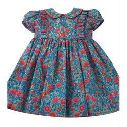 Floral Print Baby Frock