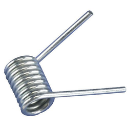Silver Stainless Steel Torsion Springs, For Industrial