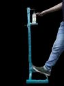 Floor Mounted Foot Operated Hand Dispenser