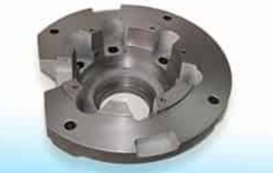 Silver CNC-Turning Output Flange