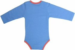 Casual Wear Blue Baby Onesis, Size: Medium
