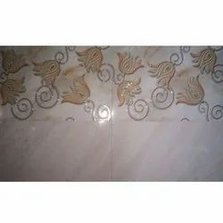 White Gloss Ceramic Wall Tiles, Thickness: 10-15 mm, Size: 60 * 120 (cm)