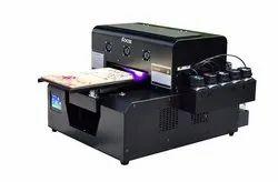 Cmyk+ww Mobile Cover Printing Machine