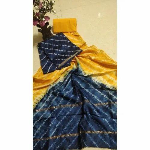 a5e308ba83 Casual Wear Fancy Chanderi Dress Material, Gsm: 150-200, Rs 1150 ...