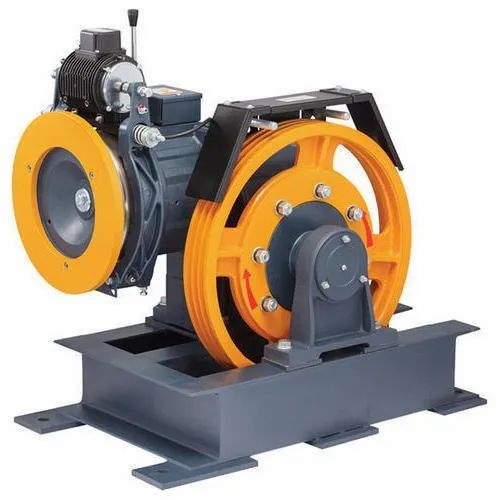 Elevator Traction Machine, 400 V