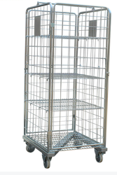 ME050 Stainless Steel Cage Trolleys