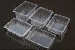 Rectangular Plastic Food Container