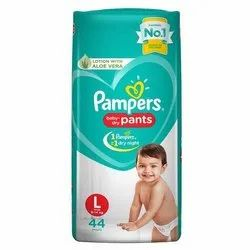 12 Hours (1 Night) Cotton Pampers Baby Dry Pants, Size: Medium, Age Group: 3-12 Months