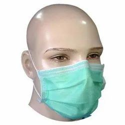 Disposable 3 Ply Non Woven Face Mask, Number of Layers: 2