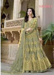 Georgette Semi-Stitched Pakistani Long Suits