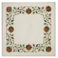 Inlaid Marble Stone Dinning Table Top