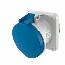Panel Mounted Industrial Socket Receptacle 1261a