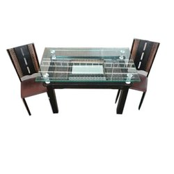 Imported Solid Wood 4 Seater Wooden Dining Table