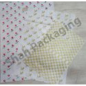 Printed D Cut Plastic Bag