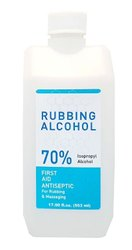 Rubbing Alcohol - First Aid Antiseptic