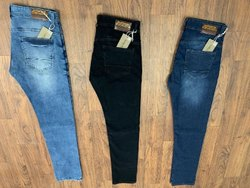 Plain Men Regular Fit Jeans