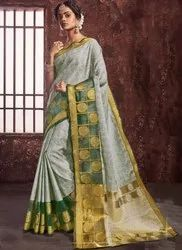 Asisa Formal Wear Sarees, 6 M (with Blouse Piece)