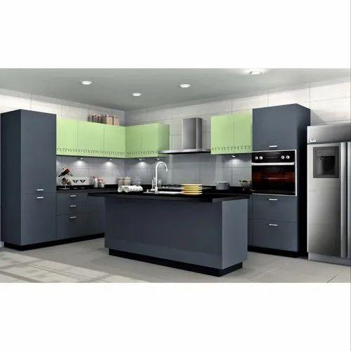 Sleek World PVC Modular Kitchen