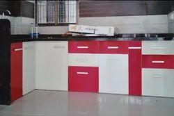 Rectangular PVC Kitchen Cabinet