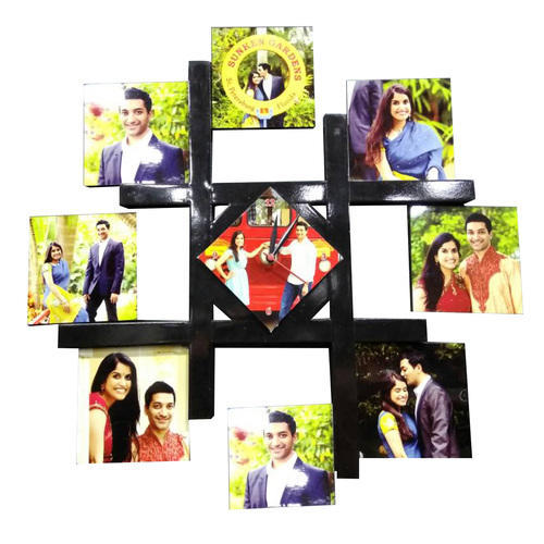 Sublimation Blank Hardboard 9 Photo Collage Frame at Rs 800 /piece ...