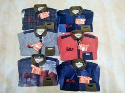 Boys 100% Cotton Kids Casual Shirts