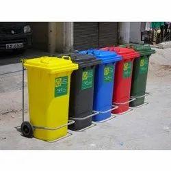 5 Set Hospital Waste Segregation Trolley