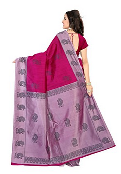ae7a49813c1 Mysore Silk Pink Jaanvi Fashion Mysore Art Silk Saree