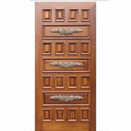 Interior Antique Wooden Door