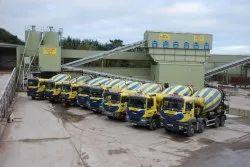 Gray M25 Ready Mix Concrete, Packaging Size: Lorry, Grade Standard: Coromandal Opc 53 Grade