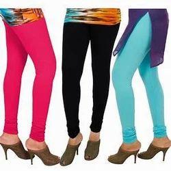 Lycra Jersey Straight Fit Leggings