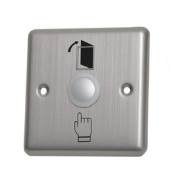 Door Release Button / Exit Switch (Aluminium)